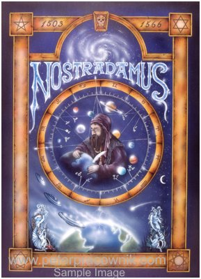Nostradamus, Astrology, Horrorscope, Nostradamus Artist Peter ...