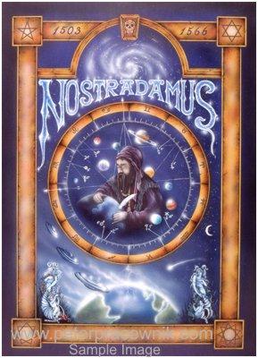 Nostradamus, Astrology, Horrorscope, Nostradamus Artist Peter ...