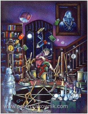 Wizards Magic Fantasy Wizards Sorcerors Apprentice Artist