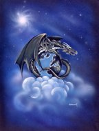 World Dragon, dragon pictures, Peter Pracownik Signed Framed Prints