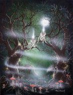 Tree Spirits, fantasy art, fantasy images, fantasy warrior, Peter Pracownik Signed Framed Prints