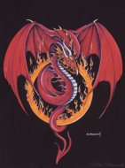 Red Dragon, Red Dragon, Peter Pracownik Signed Framed Prints